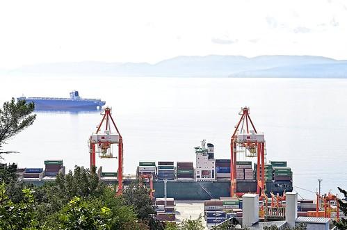 port nikon croatia terminal container croazia luka hrvatska rijeka d5100 portofrijeka tamron18270pzd portodifiume