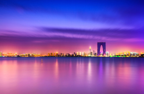 china city lake suzhou seaport