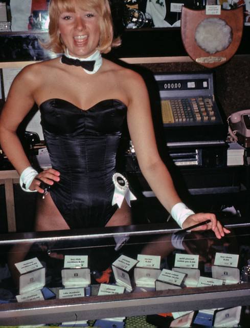 Flying Funeral Directors convention, Playboy Club, Lake Geneva, Wisconsin, 1974