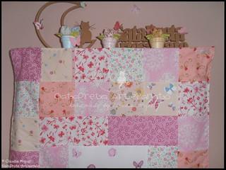Colcha cama de grades Blooming Fairies II-2 | by GataPreta Artesanato