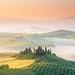 Foggy spring in Tuscany by www.truelens.it