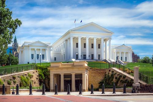 landscape virginia day state thomas landmark capitol jefferson