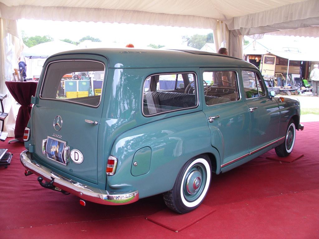 Mercedes-Benz Binz W120 180b Kombi 1960 green
