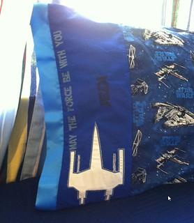 Star Wars Jedi Pillowcase personalized | by Stitchcottage