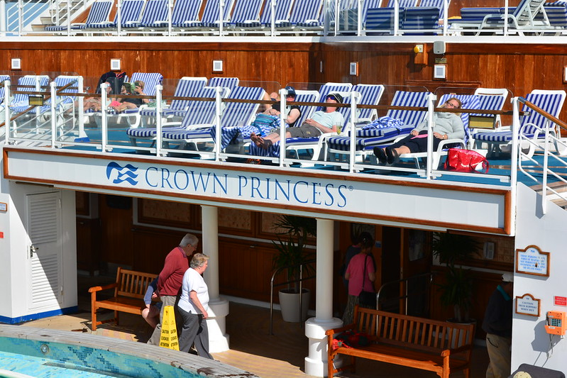 Visite du MS CROWN PRINCESS - Bordeaux / Le Verdon-sur-Mer - 29 mai 2013