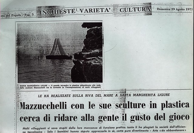 A. TO A. , Santa Margherira Ligure, Agosto 1970, Liguria