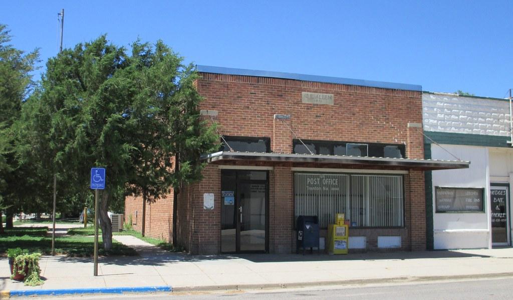 Post Office 69044 (Trenton, Nebraska)   Trenton is the count