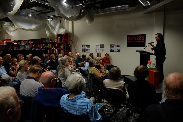 Reading at Kepler's Bookstore