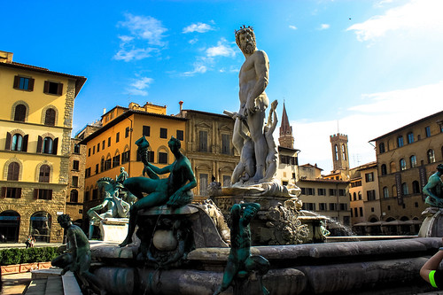 Fountain of Neptune, Florence | by Andy Hay