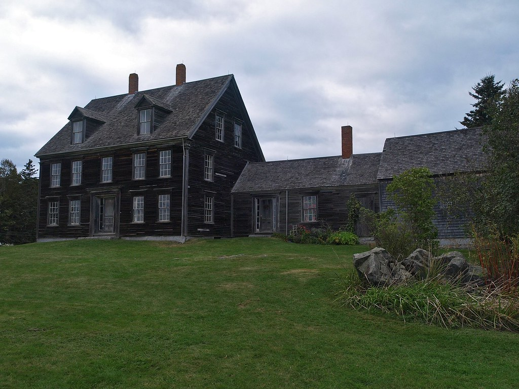 Olson House, in Andrew Wyeth's 'Christina's World'