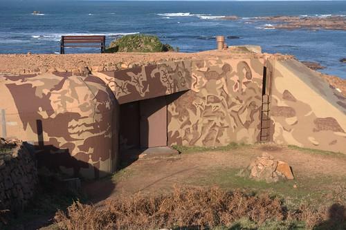 German bunker Jersey