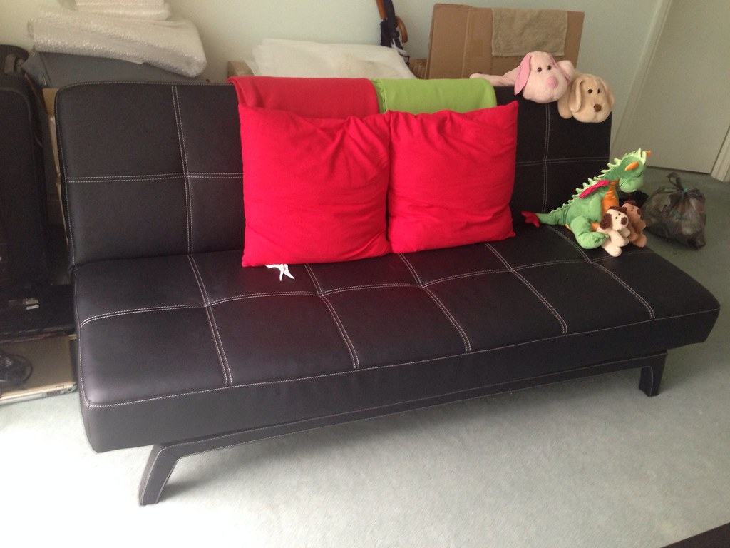 Sofabed Domayne Queen Size 200 In This Pic Ikea Polarv Flickr