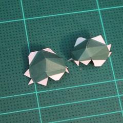 วิธีทำโมเดลกระดาษตุ้กตาคุกกี้รัน คุกกี้รสสตอเบอรี่ (LINE Cookie Run Strawberry Cookie Papercraft Model) 007