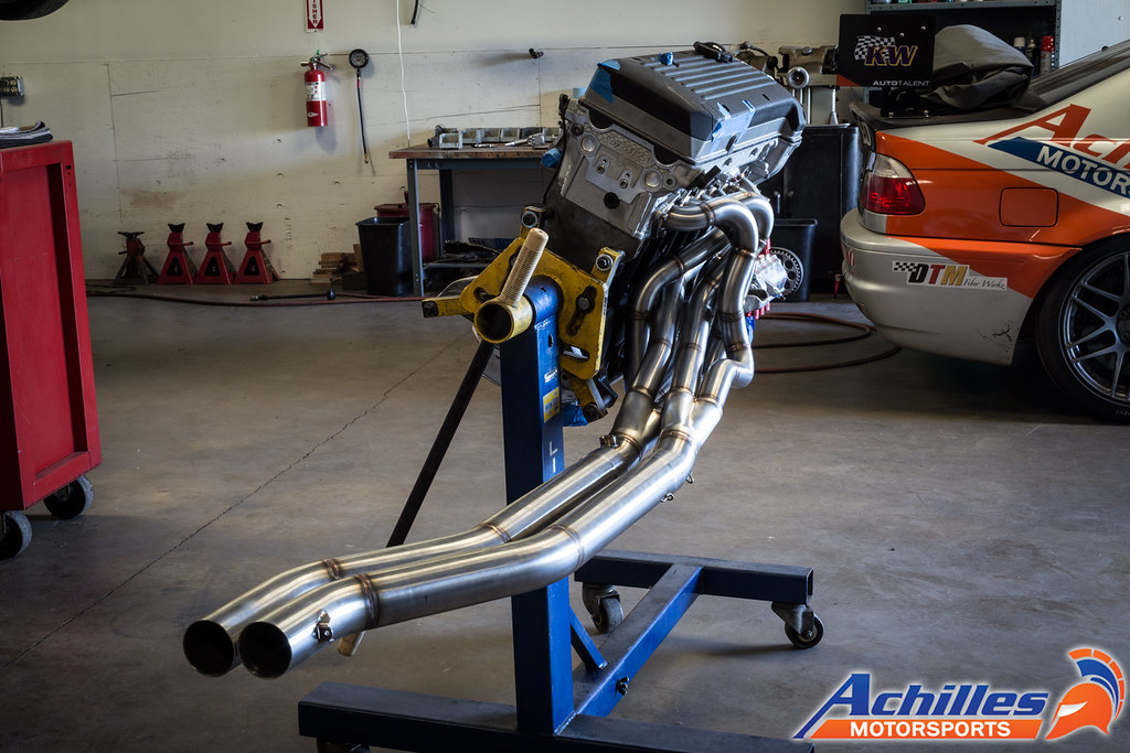 Custom Achilles Motorsports Equal Length Stepped Headers f