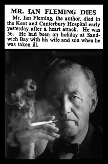 12th August 1964 - Death of Ian Fleming | by Bradford Timeline