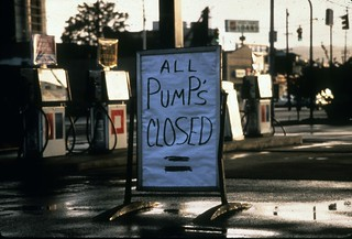 Closed gas station during energy crisis, 1976 | by Seattle Municipal Archives