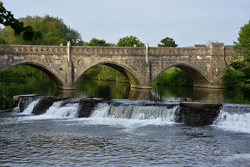 bridge water river nikon bridges rivers weir riveravon bathampton bathamptontollbridge d7200 nikond7200
