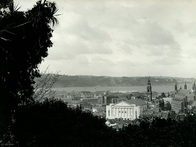View of the Newly Completed Dunedin Town Hall 1929