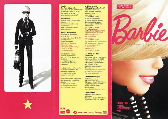 Tríptico de la Expo de Barbie