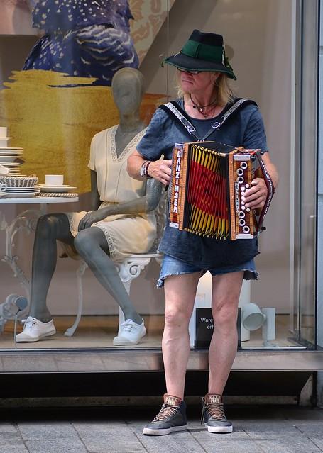 Graz - Accordion Player
