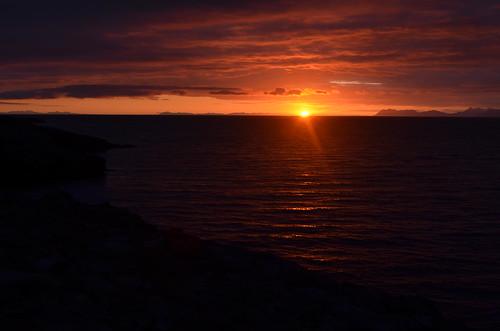sunrise iceland keflavik scandinavia