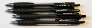 OfficeMax Retractable Gel Pens   by GourmetPens