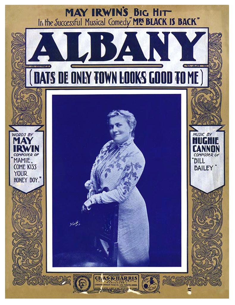 albany NY sheet music early 1900s (May Irwin & Hughie Cann