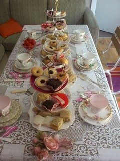 Afternoon tea by Vintage Rose Catering | by Vintage Rose Catering