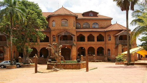 Sultan's palace foumban - Cameroon | by poldenmol1