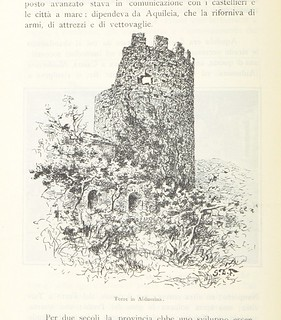 Image taken from page 218 of 'Alpi Giulie. Seguito ai libri Marine istriane, Lagune di Grado, etc. [With plates.]'