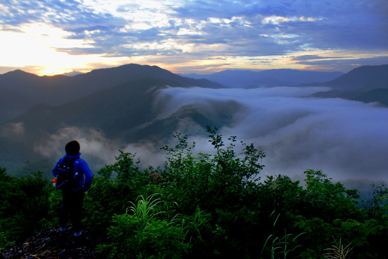 8月の越後駒ヶ岳