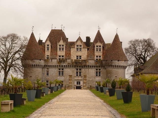 Castillo de Monbazillac (Périgord, Francia)
