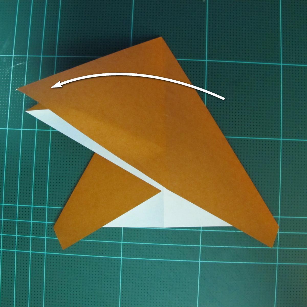วิธีการพับกระดาษเป็นรูปกบ (แบบโคลัมเบี้ยน) (Origami Frog) 019