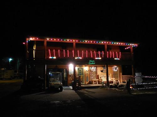 building architecture night colorado outdoor lodging motel us160 southforkcolorado riograndecountycolorado uteblufflodge