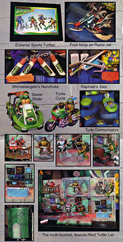 "LEE'S TOY REVIEW #xx, pg. 32 / ""TOY FAIR 2003 DECLASSIFIED"", TMNT - 2k3 Waves 2 peek; ROLEPLAY, vehicles, Lair Playset (( xx, 2003 )) by tOkKa"