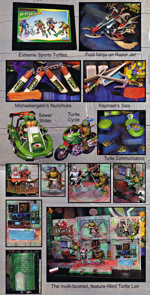 "LEE'S TOY REVIEW #xx, pg. 32 / ""TOY FAIR 2003 DECLASSIFIED"", TMNT - 2k3 Waves 2 peek; ROLEPLAY, vehicles, Lair Playset (( xx, 2003 )) by tOkKa"
