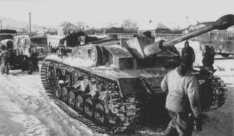 StuG III from 3rd SS Panzer Division Totenkopf