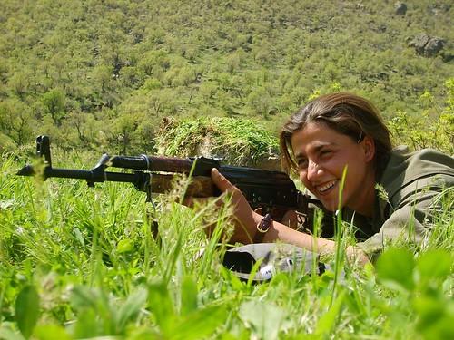 Kurdish PKK Guerilla   by Kurdishstruggle