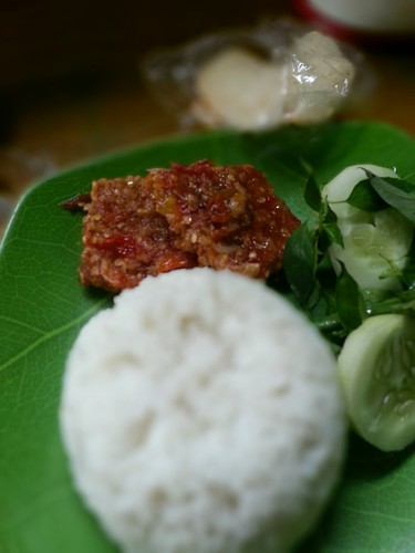Tempe soy Vegetable with chili paste with onion | by BangGanteng