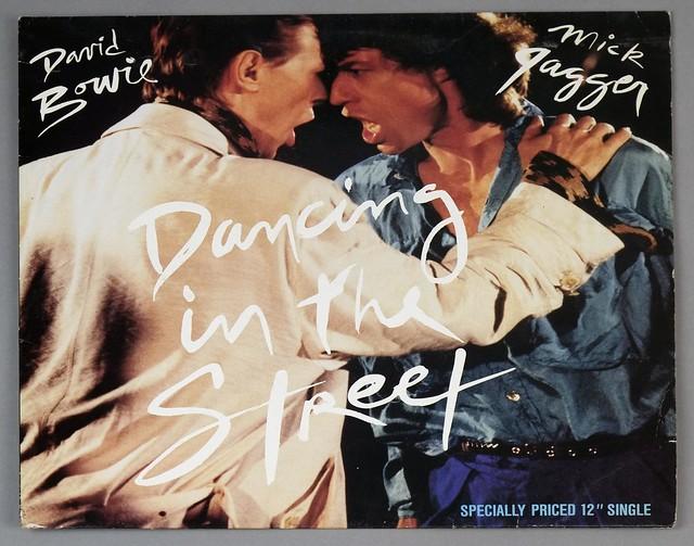 "DAVID BOWIE & MICK JAGGER - DANCING IN THE STREET 12"" 45RPM Maxi-Single VINYL"