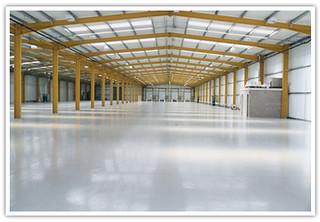 Műgyanta padlóburkolatunk ideális megoldás raktárak padlózatának!