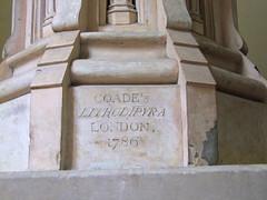 Coade's Lithodipyra, London 1786