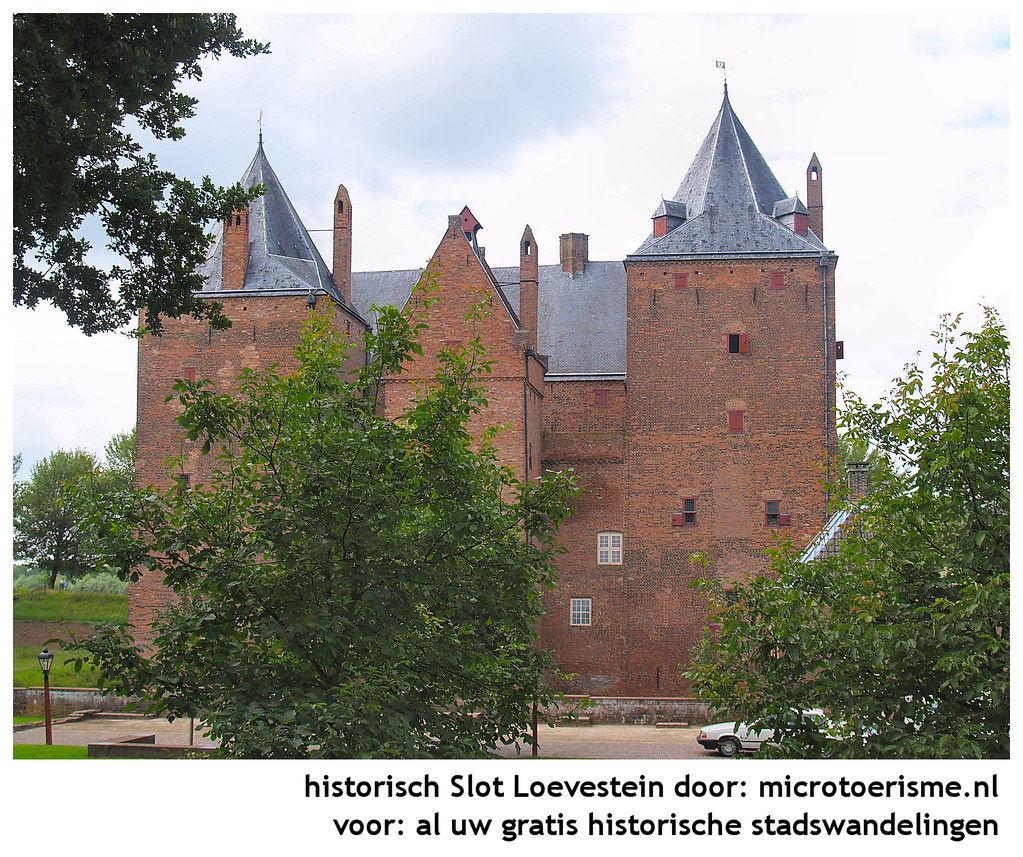 Microtoerisme InZicht Stadswandeling Slot Loevestein - 075