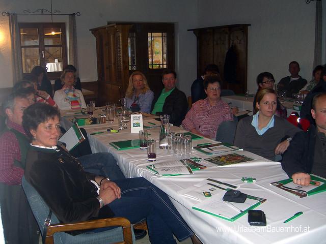 Erfahrungsaustausch der UaB- Bio-, Gesundheits- & Kräuterbauernhöfe in Seeham