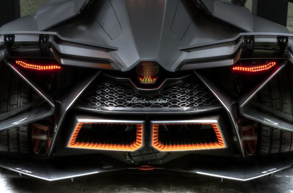Lamborghini Egoista There Can Be Only One Seen At The Sc Flickr