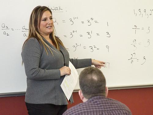 Math instructor