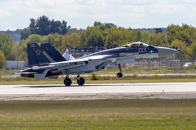 Сухой Су-35С RF-95242 / 03  Россия (СССР) - ВВС