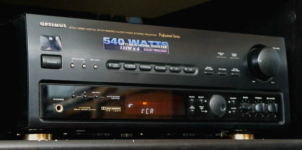 1997 Optimus STAV-3590 Home Theater Receiver | Caleb Nestor
