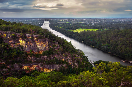 nature clouds river nationalpark bluemountains views vista cloudscape nepeanriver glenbrookgorge