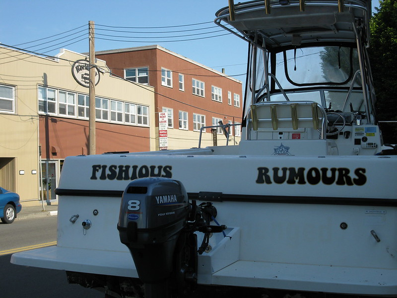 Fishous Rumours vehicle graphics